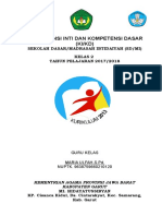 Cover Kompetensi Inti Dan Kompetensi Dasar