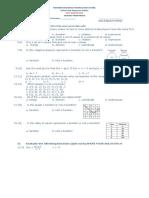 Departmental Test Gen Math