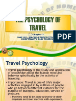Psychology Of Tourism