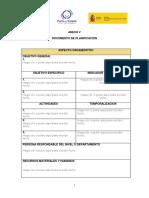 Anexo v Documento de Planificacion