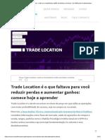 Trade Locaciton - Raiox Preditivo