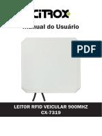 Manual_CX-7319 - Leitor RFID Veicular 900MHZ 5M.pdf