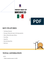 Presentation on Energy Map of Mexico