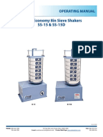 Manual Gilson 8in Sieve Shakers
