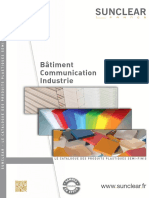 Catalogue Bardage Couverture Enseigne Sunclear