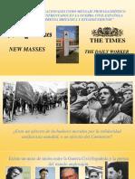 _las Brigadas Internacionales Como Mensaje Propagandístico de Los Dos Bandos