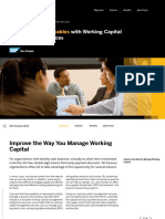 SAP Ariba Working Capital Management Services