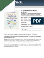 Descripción libro chakras
