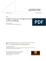 Fragility Assessment of High-Rise Reinforced Concrete Buildings