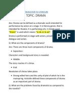 Drama as criticism of life.docx