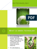 Lec. Green Technology