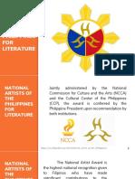 National Artist for Literature