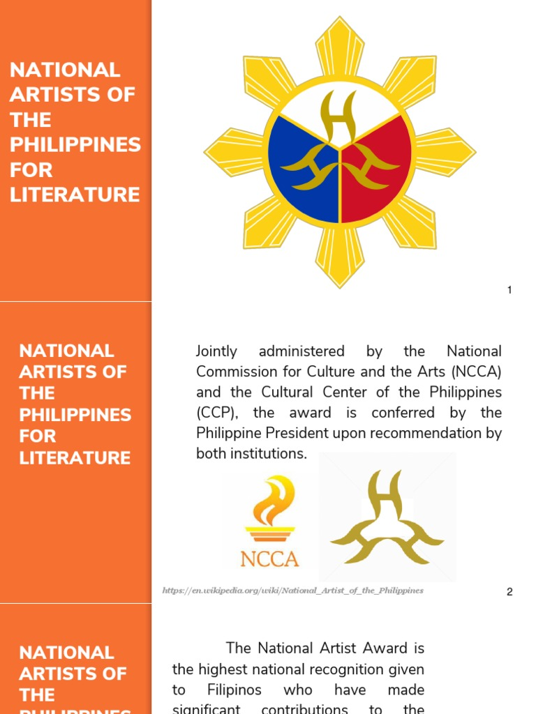 National Artist For Literature Philippines Poetry