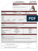 Rona Mae Reyes Cruz - Application Form