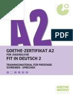 A2 Fit in Deutsch 2 Trainingsmaterial Für Prüfende