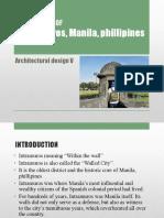 Intramures, Manila, Phillipines