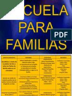 Escuela para familias
