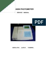AE-600N Service Manual
