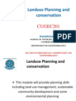 landuse Planning and conservation.pptx