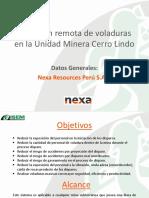 Detonación Remota en Minería Subterránea NEXA