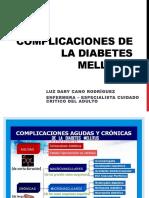 Complicaciones de La Diabetes Mellitus (1)