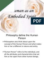 Emobodied spirit