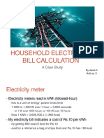 Household Electricity Bill Calculation (Final)