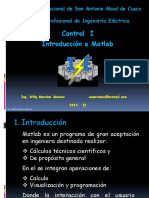 169300250 Introduccion a Matlab