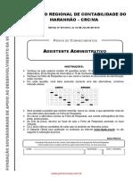 modelo de prova de assistente administrativo