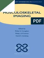 Musculoskeletal Imaging Oxford Handbook