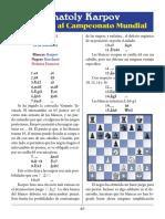 23- Karpov vs. Korchnoi