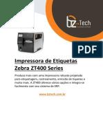 Guia Rapido Zebra Zt400 Series