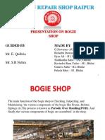 Ppt on Bogie Shop
