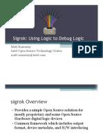 Sigrok - Using Logic to Debug Logic