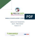 Manual Modulo Prestashop - V2.1.0