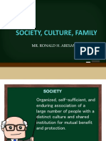 Society and Culture (1)