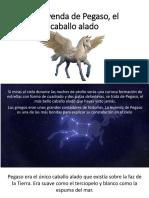 La Leyenda de Pegaso, El Caballo Alado