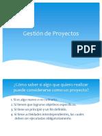 Teoria - Gestión de Proyectos