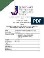 Lab Report GC