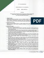 Edaran Direksi 0001 E DIR 2018 - Petunjuk Pelaksanaan Perhitungan Nilai Kinerja Organisasi PLN