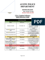 Training Bulletin-Camping Ordinance 10.28.19 (Quick Reference Guide)