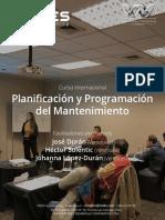 Planificacion y Programacion Del Manteni