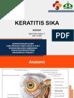 Keratitis Sika