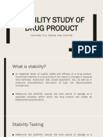 Stability Testing