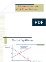 VI Market Equilibrium and Price