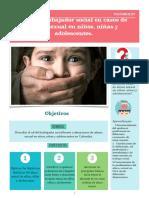Rol Del Trabajo Social En Casos De Abuso Sexual A Niños, Niñas Y Adolescente.