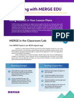 integrating merge into your lesson plans