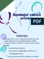 Sondajul vezicii urinare