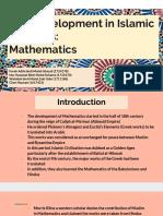 Mathematics in Islamic Civilization