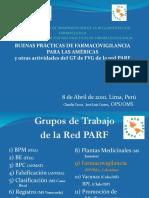 04 - 2010 Buenas Practicas de Farmacovigilancia Para Las Americas Lima